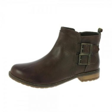 Barbour Sarah Low Buckle Ankle Boots