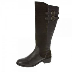 Lunar Albany Long Boots in brown