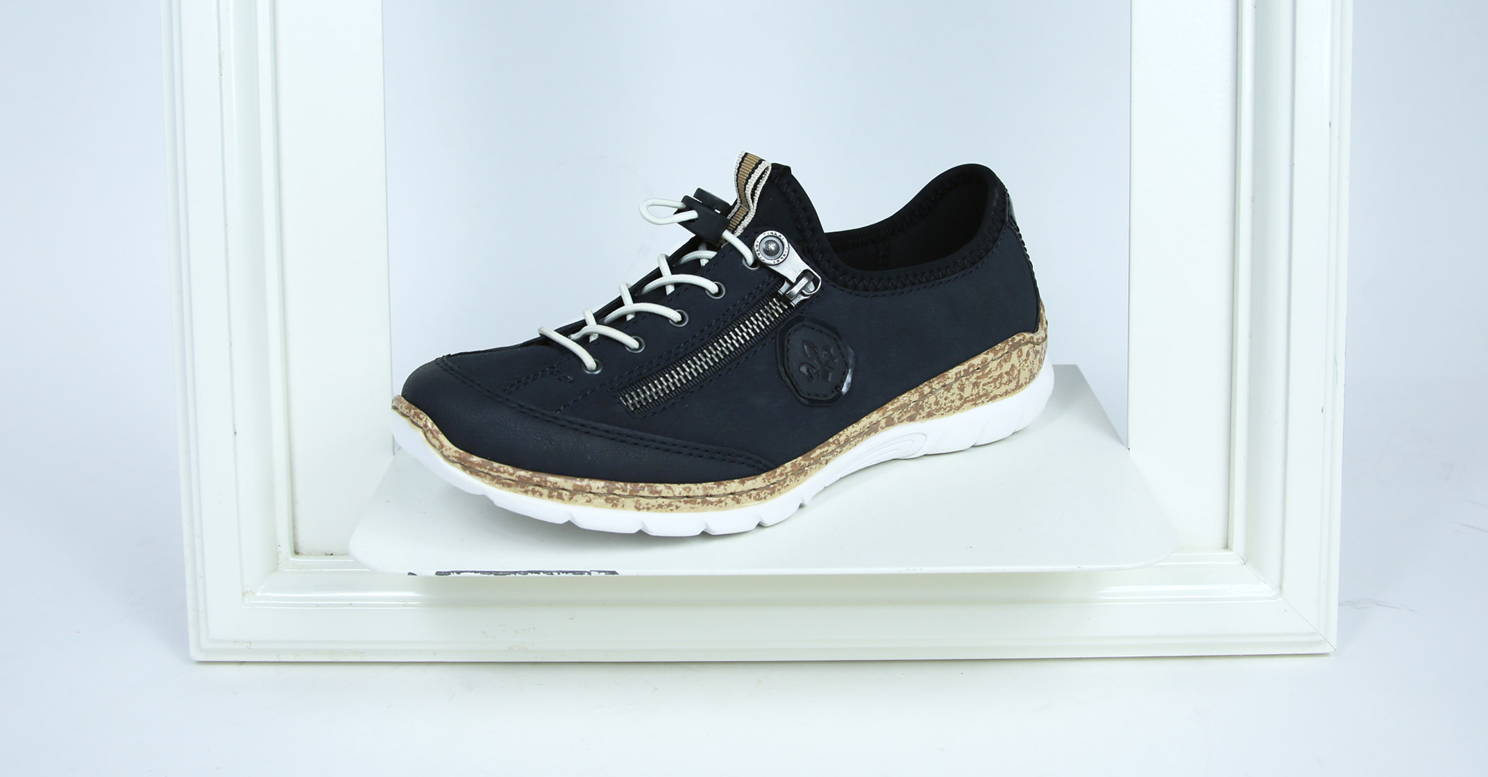 Athleisure: Rieker N4263 Trainers in pacific
