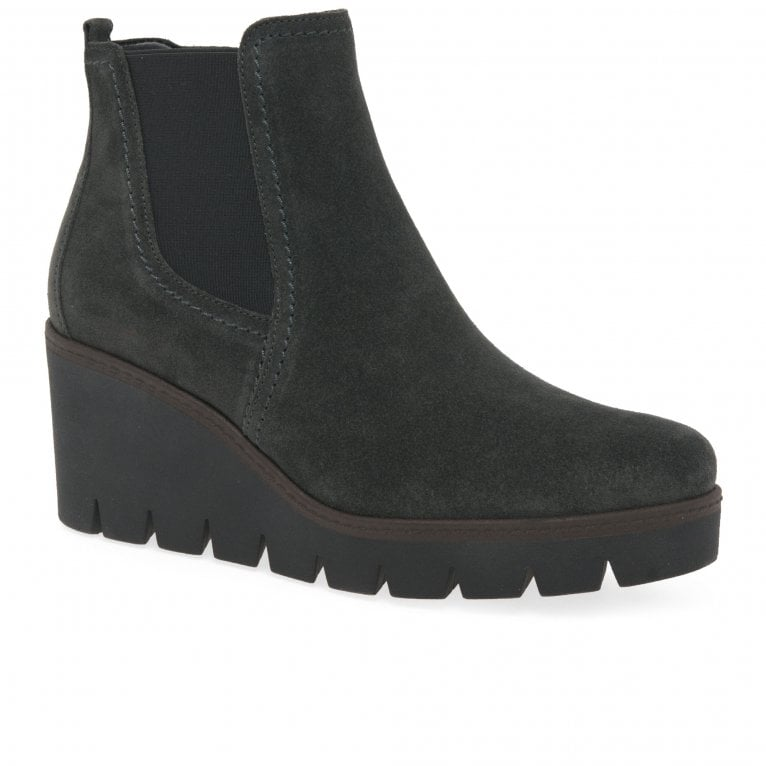 Gabor Angel Womens Wedge Ankle Boots