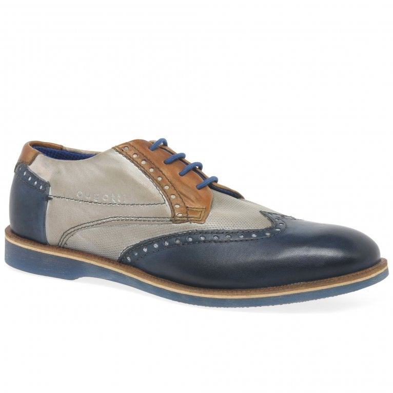 Bugatti Factor Mens Lace Up Wing Tip Brogues