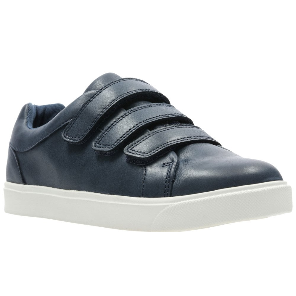 Clarks City Oasis Lo K Boys Trainers