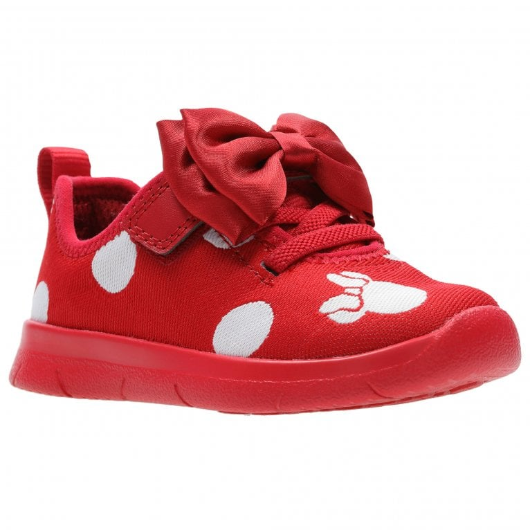 Clarks Ath Bow T Girls First Shoes
