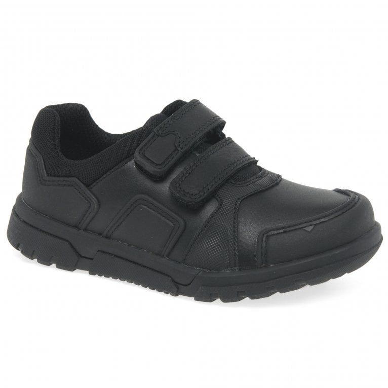 Clarks Blake Street Boys Infant Leather School Shoes