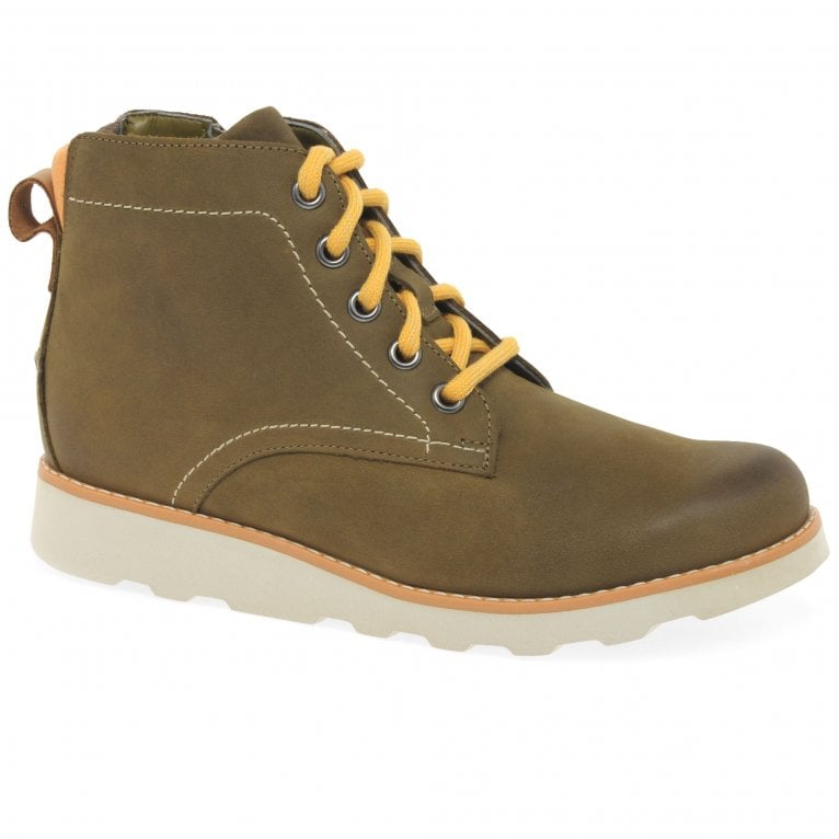 Clarks Crown Hike Boys Kids Boots