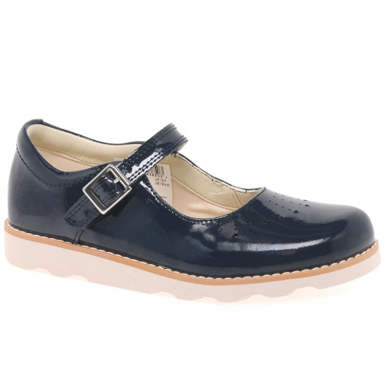 Clarks Crown Jump Girls Mary Jane Shoes