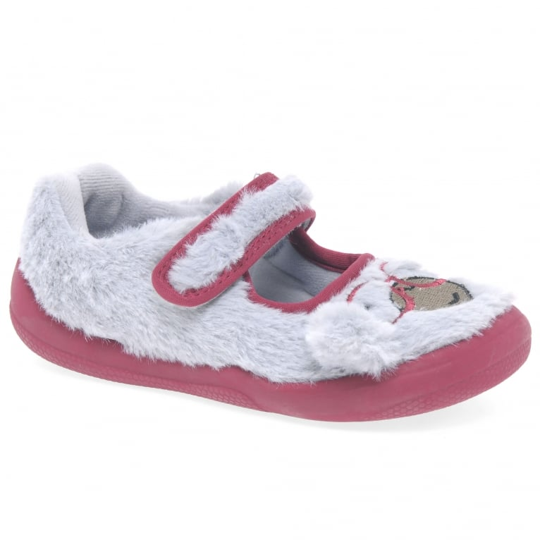Clarks Cuba Chip Girls Infant Slippers