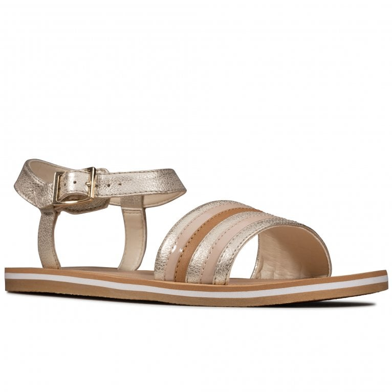Clarks Finch Stride Y Girls Sandals