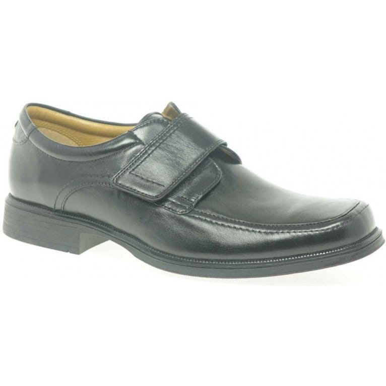 Clarks Hoist Roll Mens Formal Rip Tape Fastening Shoes
