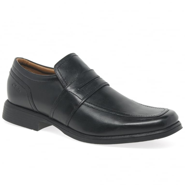 Clarks Hoist Work Mens Formal Slip On Shoes