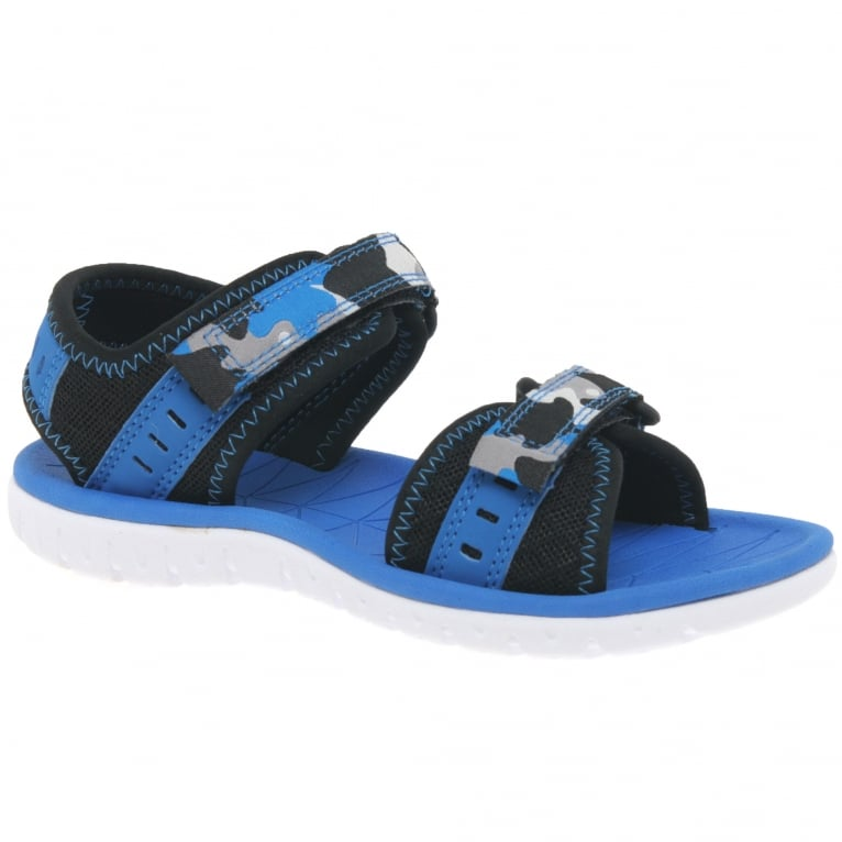 Clarks Surfing Coast Boys Rip Tape Sandals