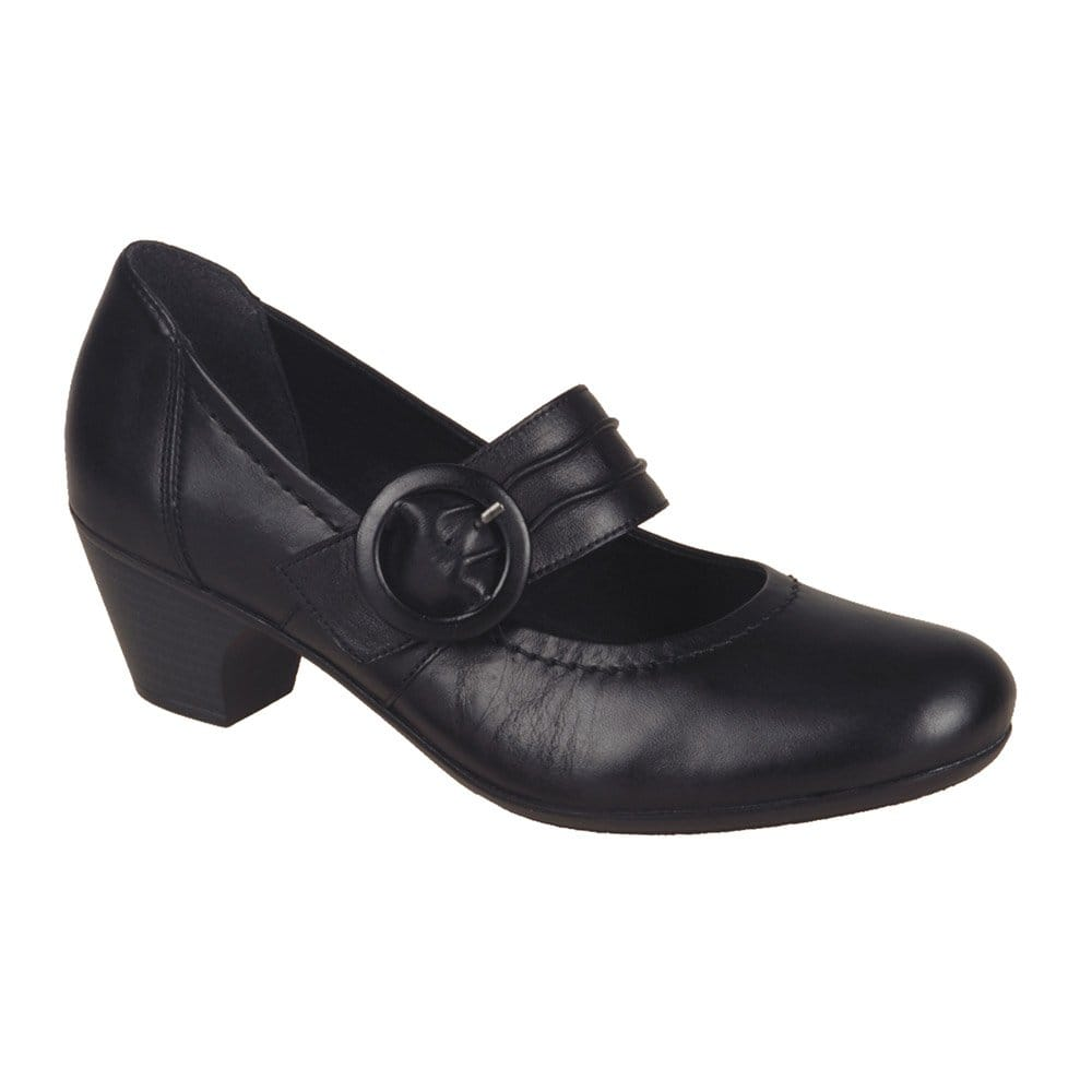 clarks womens gael angora shoes black croc free delivery