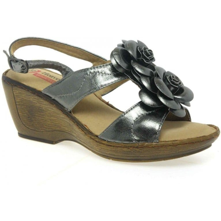 Womens Kendra Sienna Shoes Black Leather