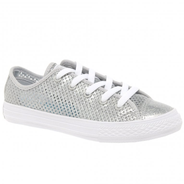 Converse All Star Oxford Girls Youth Lace Canvas Shoes