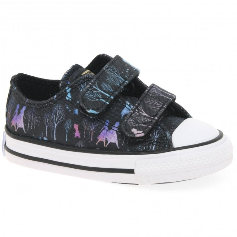 Converse Frozen II Sisters Journey Oxford Girls Infant Canvas Shoes