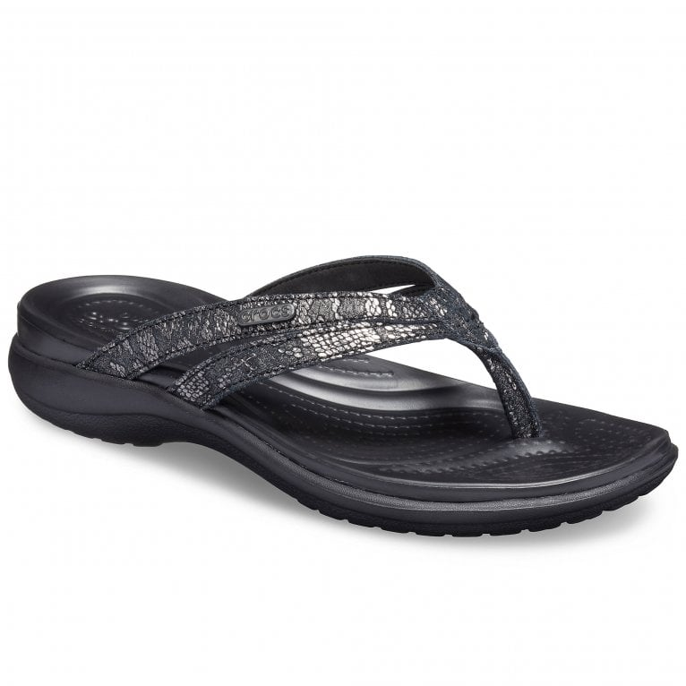Crocs Capri Strappy Womens Flip Flop Sandals