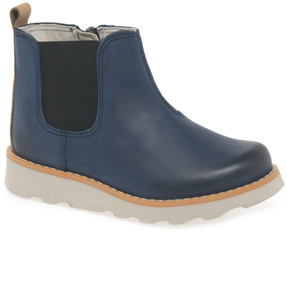 Clarks Crown Halo Boys Infant Leather