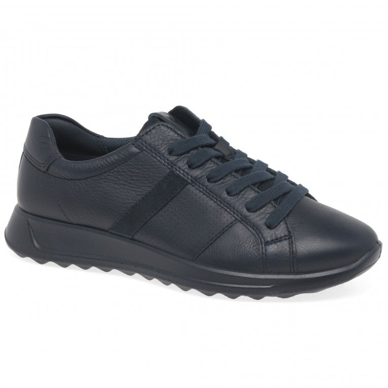 Ecco Flexure Runner Leather Womens Trainers