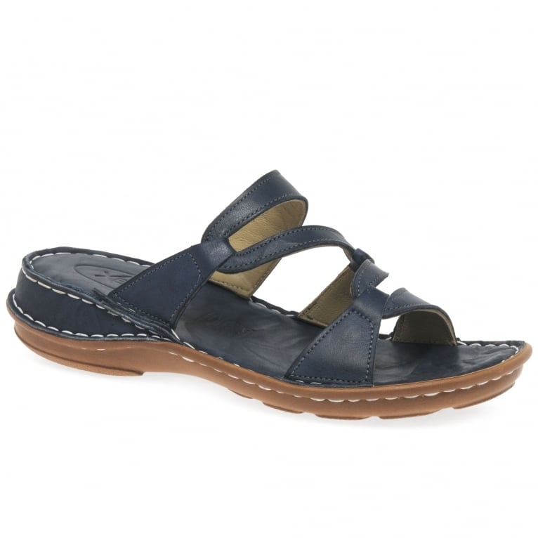 Canna Womens Leather Sandals
