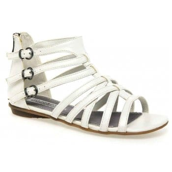 FitFlop™ Crystall™ Slide Sandals Silver