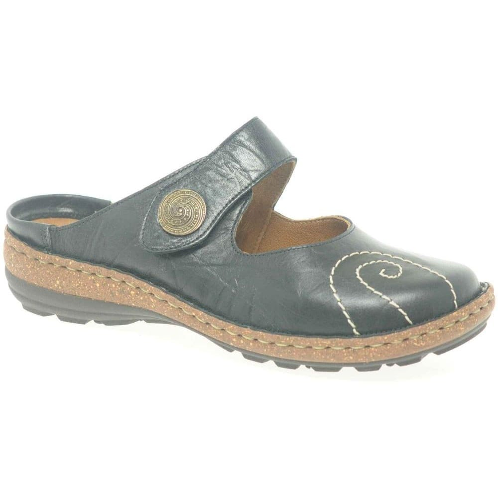 9e5c37334 FitFlop Delta Women s Leather Slide Sandals - Crystal