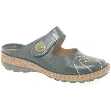 FitFlop Delta Leather Slide Sandals - Crystal