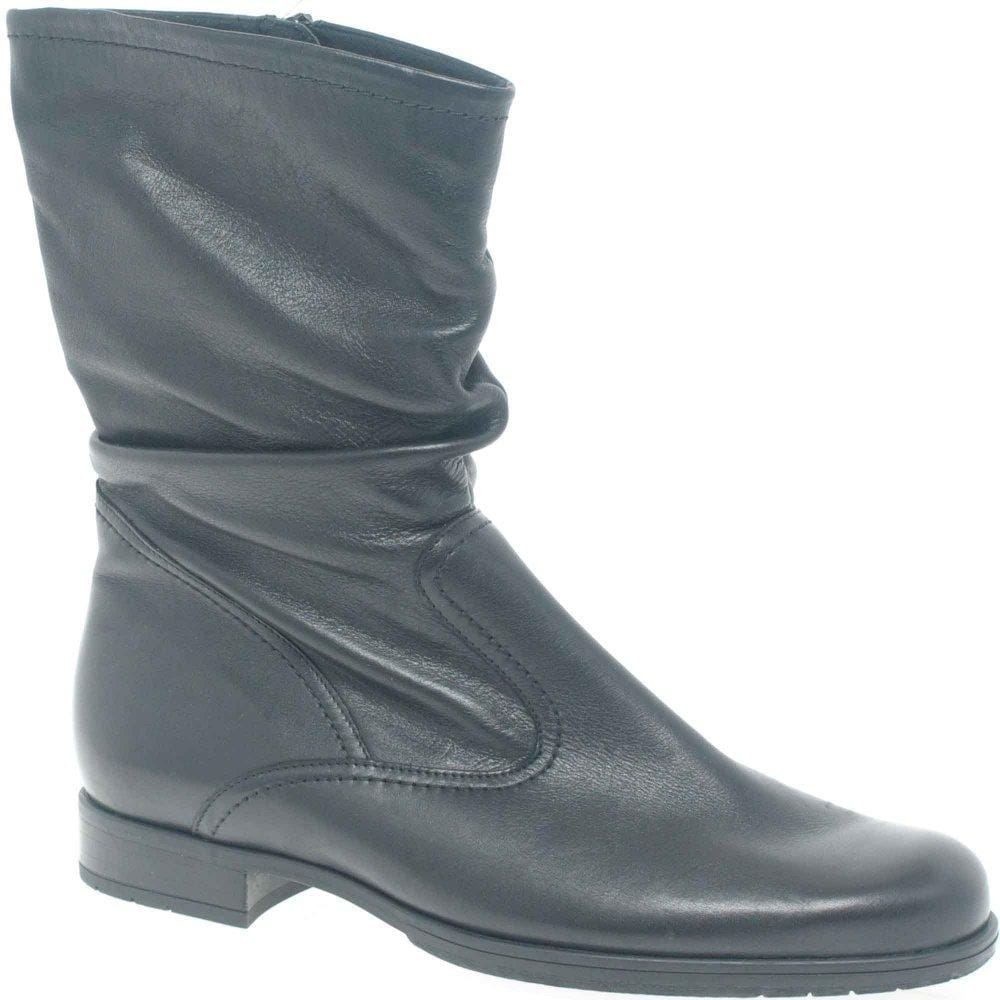 844eb9152f4dcc FitFlop Fifi Chain High Boots Wedge Leather Boots