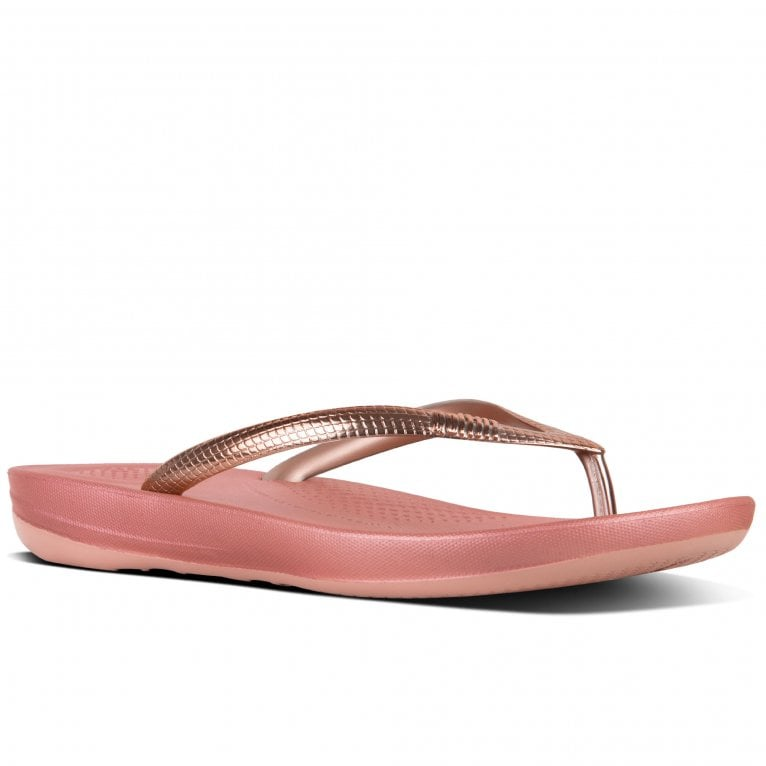 FitFlop™ Iqushion Womens Toe Post Sandals