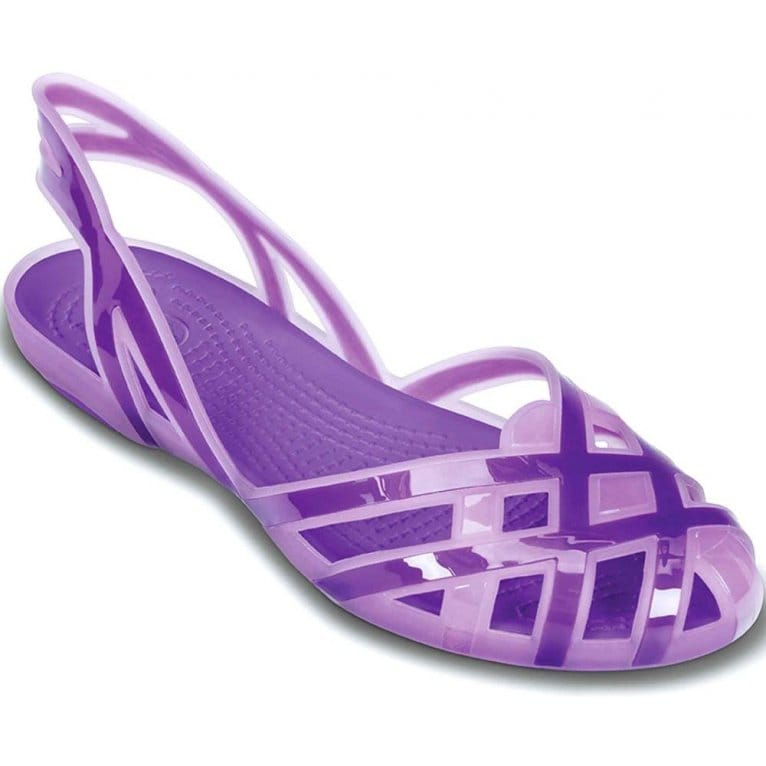 Strobe Luxe Toe-Thong Sandals