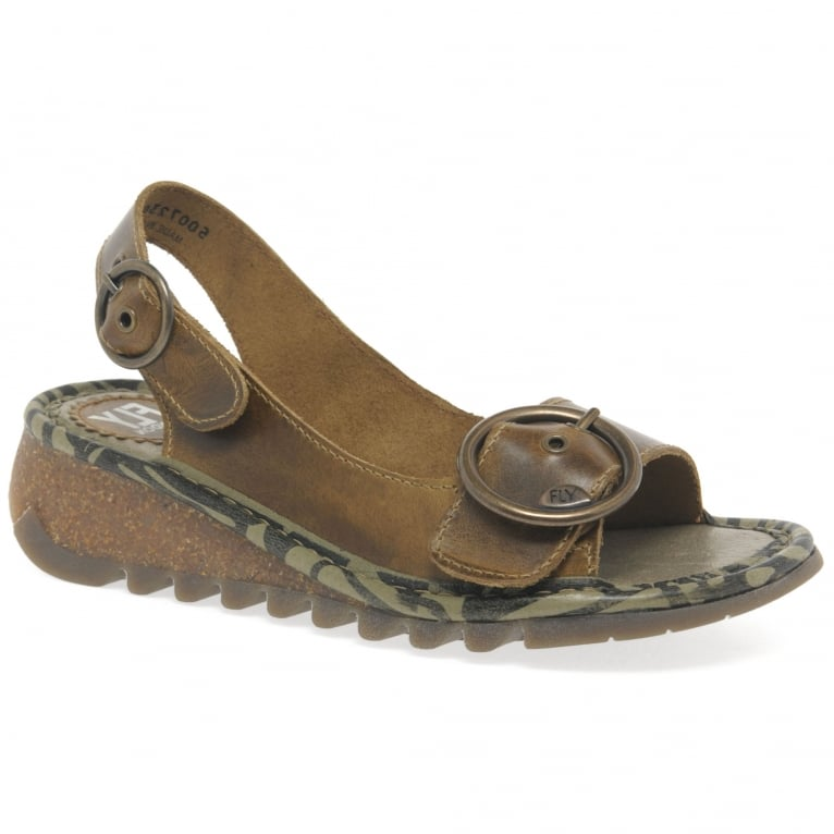 Fly London Tram Womens Casual Sandals