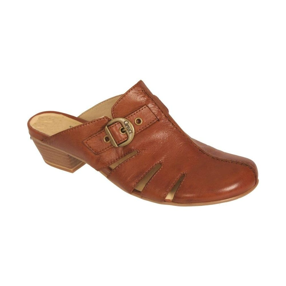 9871968576a07 Fly London Yail Women's Leather Wedge Sandals Backstrap