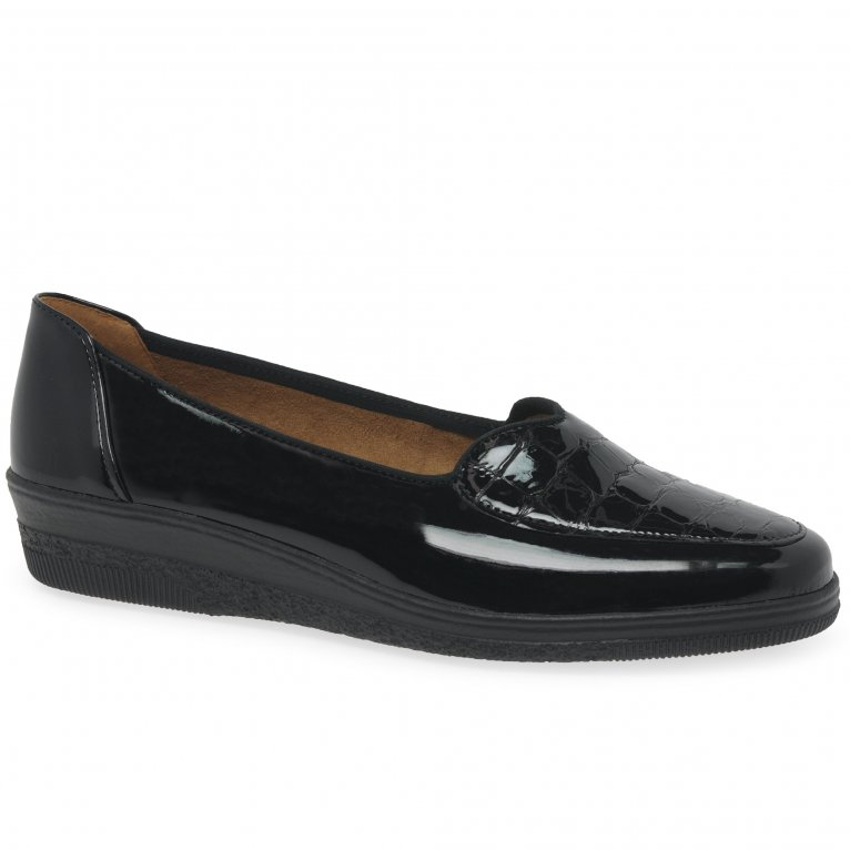 Gabor Blanche Womens Wide Fit Pumps