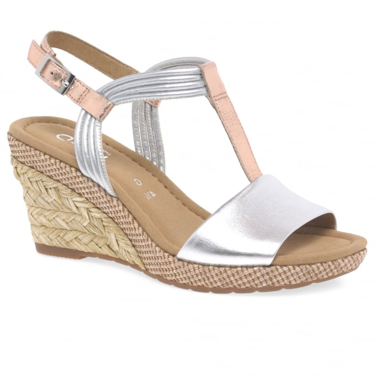 Gabor Jess Womens Casual Wedge Heel Sandals