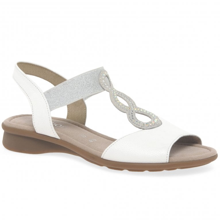 Gabor Merlin Womens Open Toe Flat Sandals