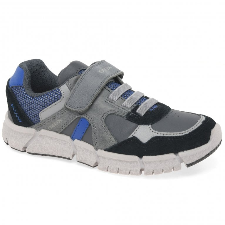 Geox Junior Flexyper Boys Sports Trainers