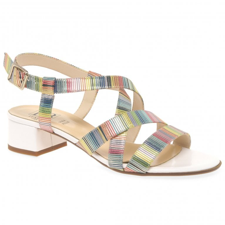 HB Pixie Womens Block Heel Sandals