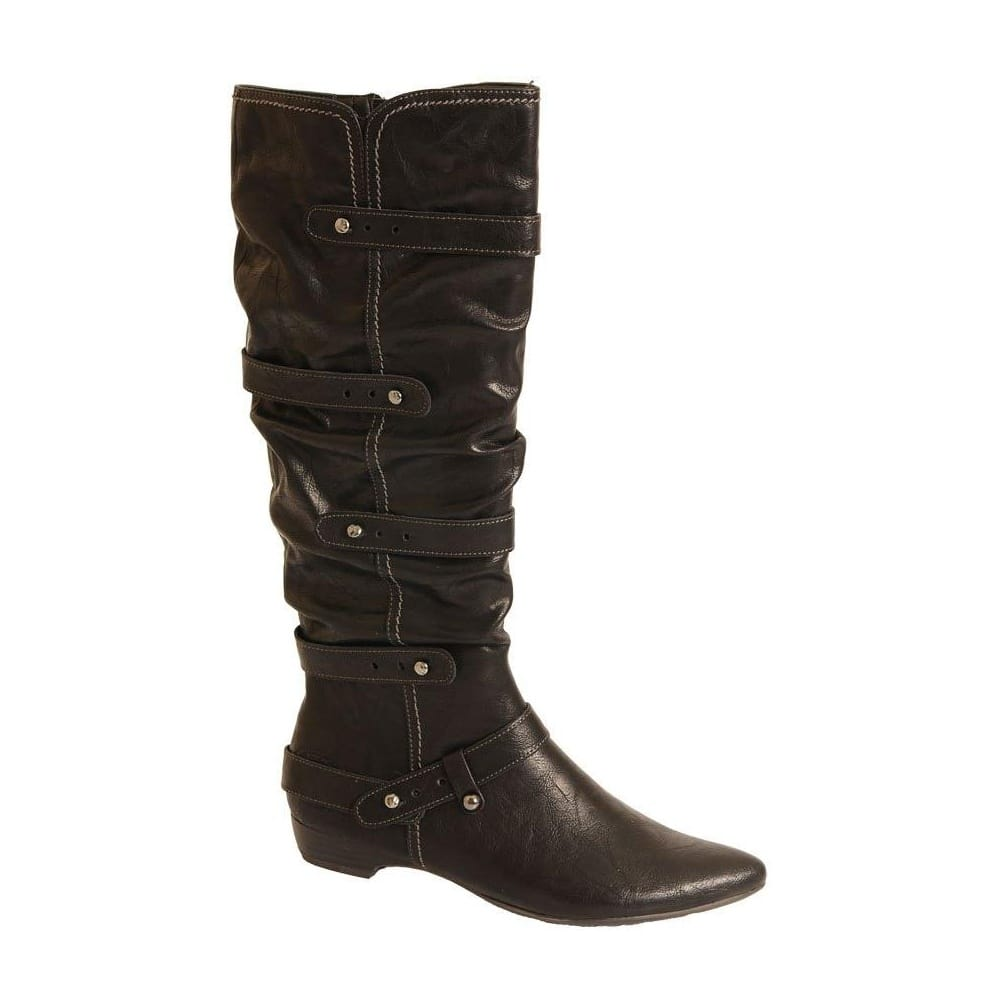 Josef Seibel Tracy 07 (Suede) Women's Boots (Black) - bottom