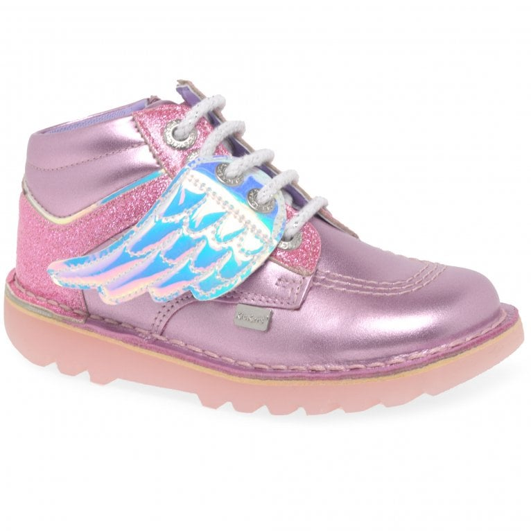 Kickers Angelic Hi Girls Infant Boots