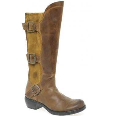 Kickers Lachly Hi Boots Tan