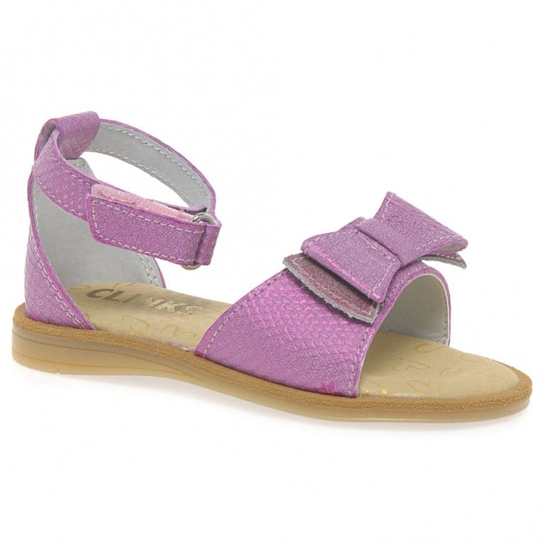 Kids at Clinks Bow Girls Sandals