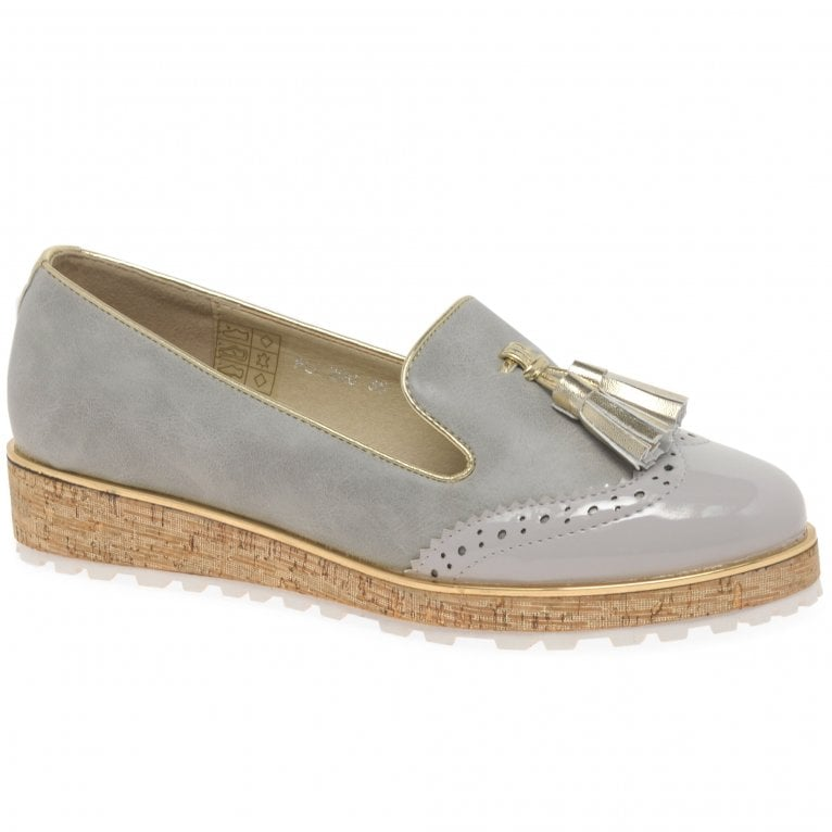 Lunar (GRS) Michaela Womens Tassel Loafer