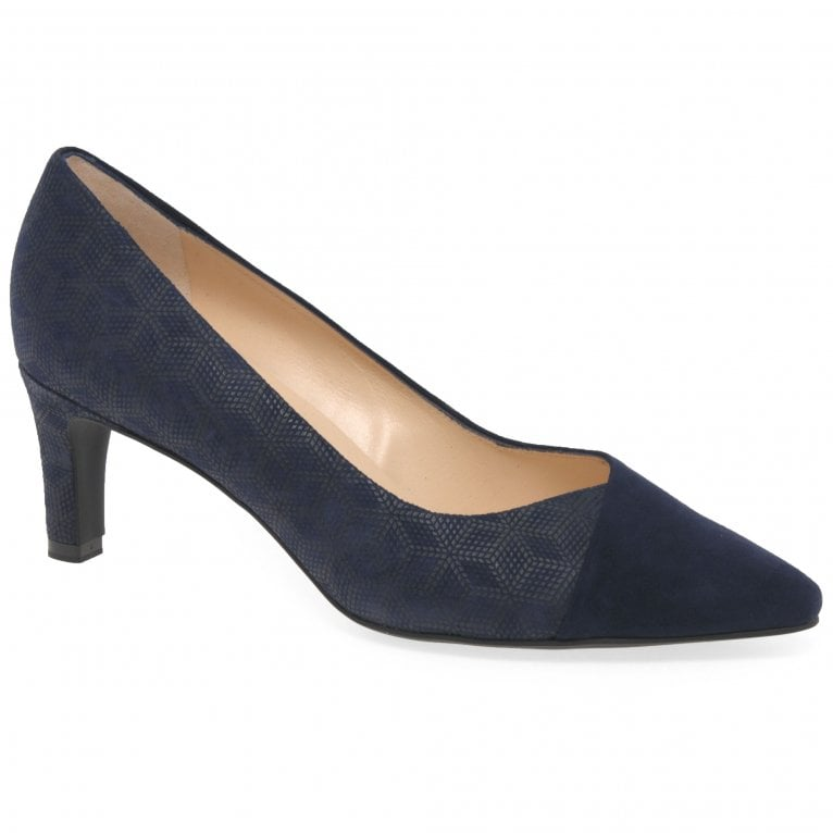 Peter Kaiser Maike Womens Suede Court Shoes