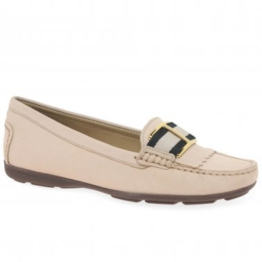 Charles Clinkard Maria Lya Donna III Womens Leather Moccasin Penny Loafers