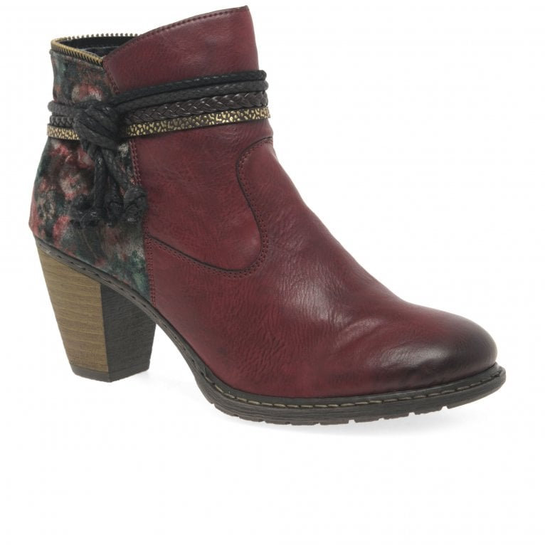 Rieker Parma Womens Casual Ankle Boots