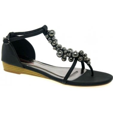 Rieker Womens L1763-00 Shoes Black
