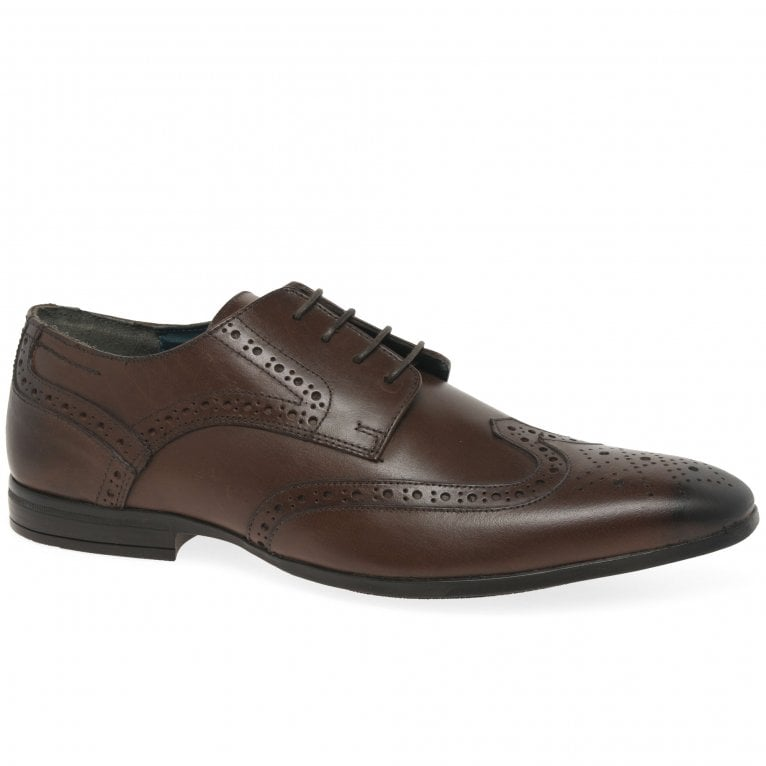 Silver Street Roach Mens Wing Tip Brogues
