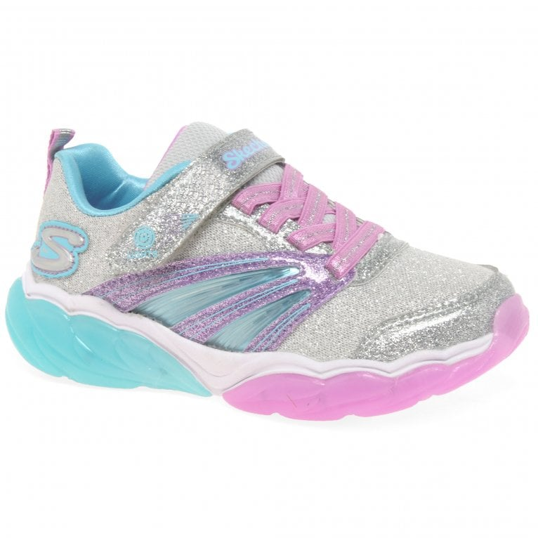 Skechers Fusion Flash Girls Sports Trainers