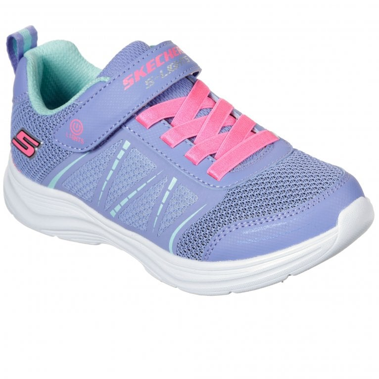 Skechers Glimmer Kicks Shimmy Brights Girls Sports Trainers