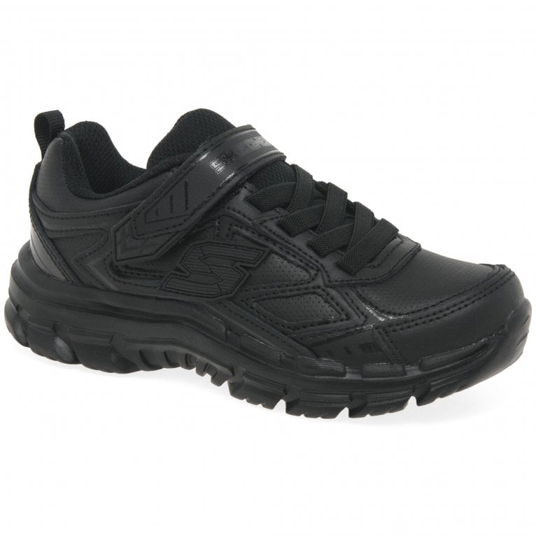 Skechers Nitrate Microblast Kids Sports Shoes