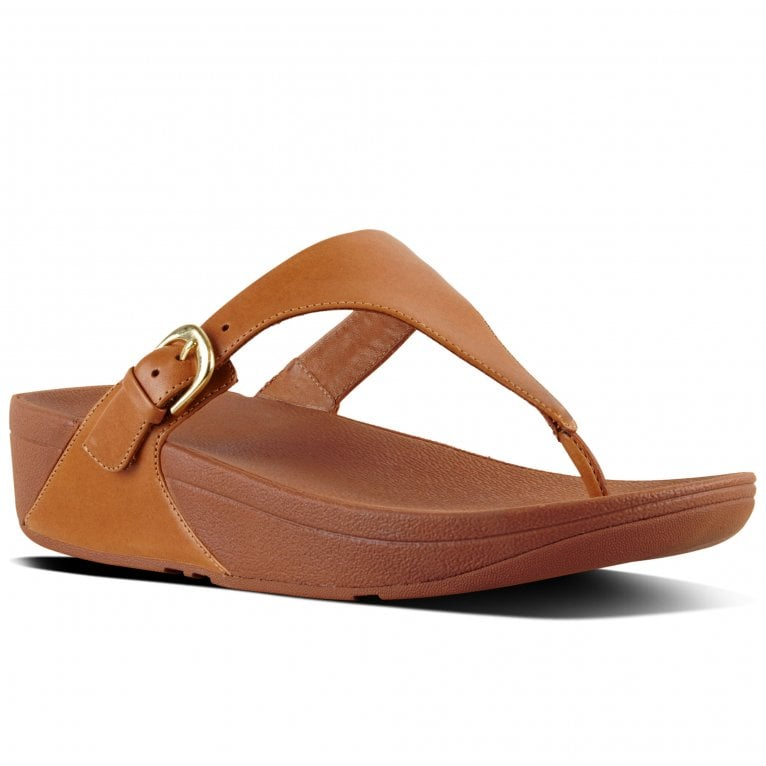 FitFlop™ Skinny Ladies Leather Toe Post Sandals